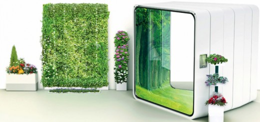 私たちの家を緑化してくれる、未来のグリーン(菜園)家具たち