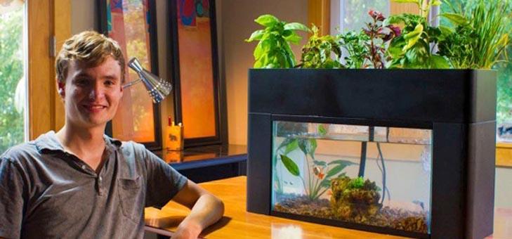 魚と野菜を育てるエコ菜園「AquaSprouts」の創業者ジャックと、おうち菜園の出会い