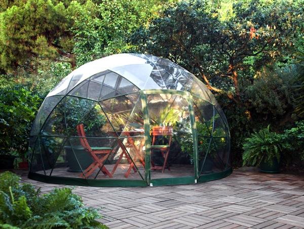 癒しのグリーンタイムを過ごそう。丸い温室「garden Igloo」で おうち菜園