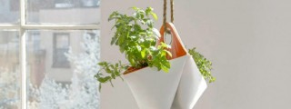 持ち運んだり吊るしたり。ハーブプランター「Nomad」で菜園生活を楽しもう