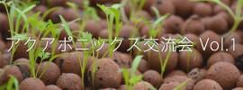 【イベント開催】 未来の農業について語ろう ~アクアポニックス交流会Vol. 1~